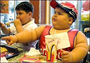 Fat Kid at McDonalds